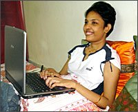 handicapped lady trader makes lakhs