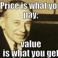 Benjamin Graham things to look in stocks